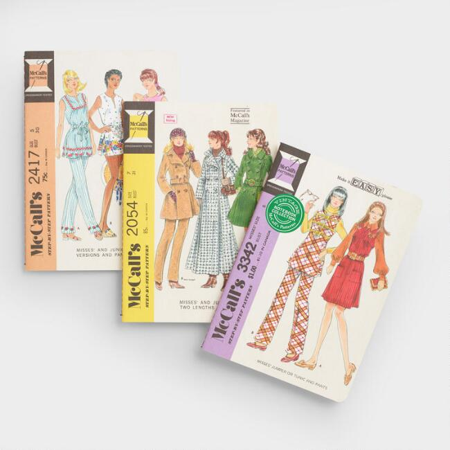 Vintage McCall's Patterns Notebooks Set of 3