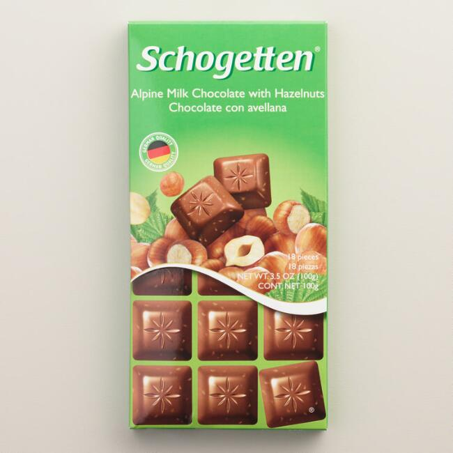 Schogetten Hazelnut Milk Chocolate Bar
