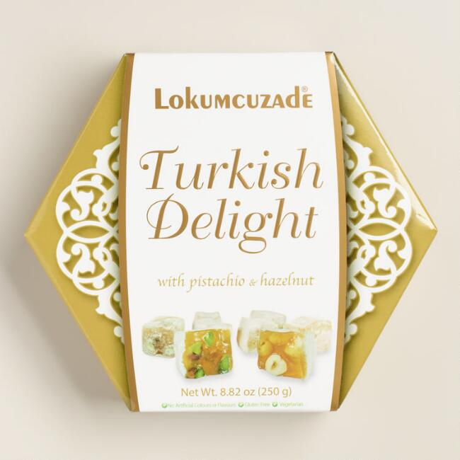 Pistachio Turkish Delights