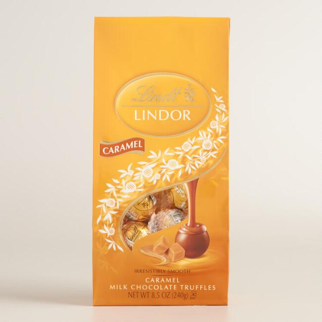 Lindt Lindor Milk Chocolate Caramel Bag