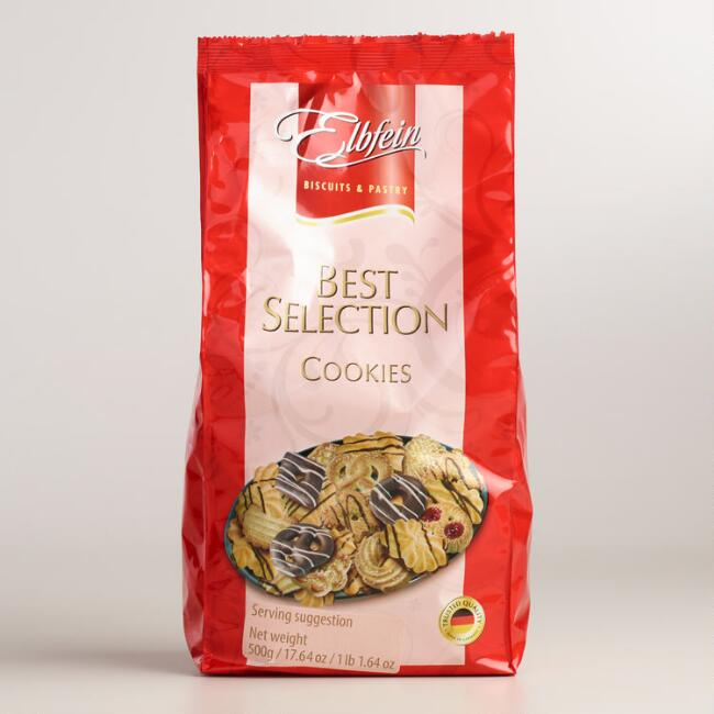 Elbfein Assorted Cookies, 16-Pack