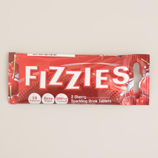 Cherry Fizzies Instant Drink Tablets, Set of 6