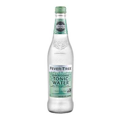 Fever Tree Elderflower Tonic Water Set of 8