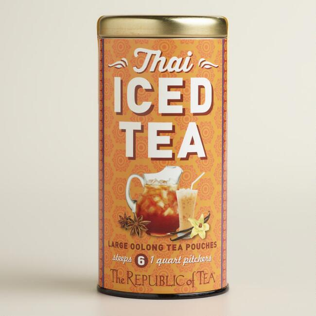 The Republic of Tea Thai Iced Tea Bags, 6-Count