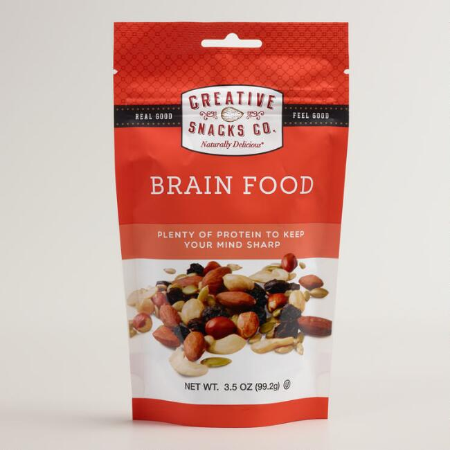 brain food excellent snacks for studying Brain food: excellent snacks for studying posted by admin posted on july 17, 2012 in brain breaks acai berries most people understand that healthy food is good for your physical health, but what about your mental health.