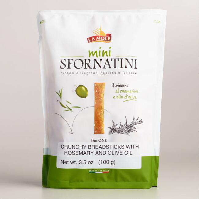 La Mole Mini Sfornatini Breadsticks with Rosemary