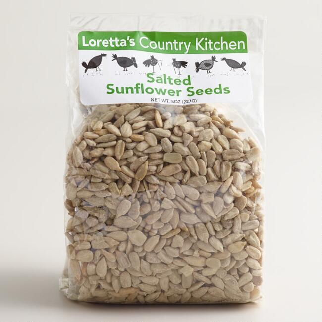 Loretta's Country Kitchen Sea Salted Sunflower Seeds