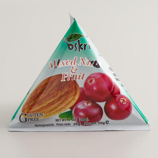 Oskri Mixed Nuts and Fruits Pyramid Snacks