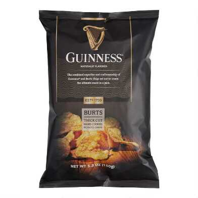Burts Thick Cut Guinness Potato Chips Set of 10