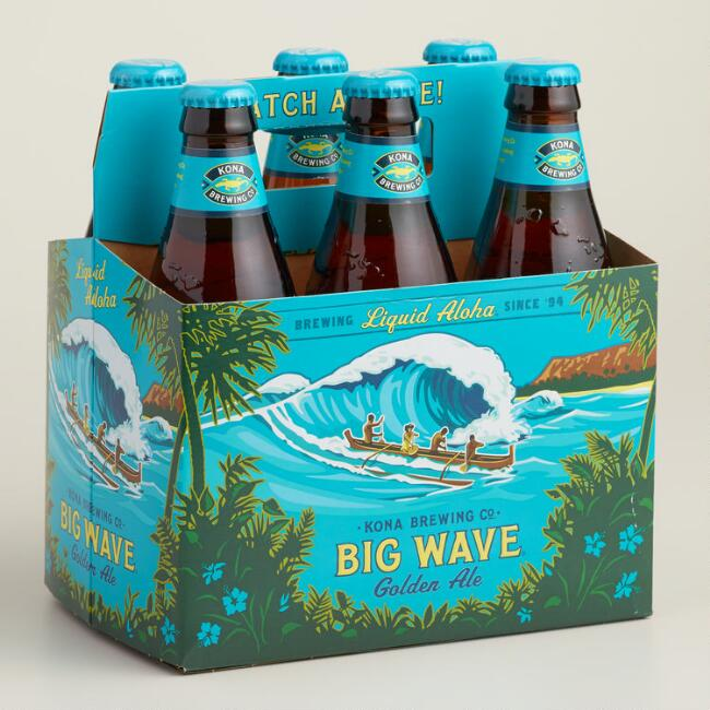 Kona Big Wave Ale 6-Pack