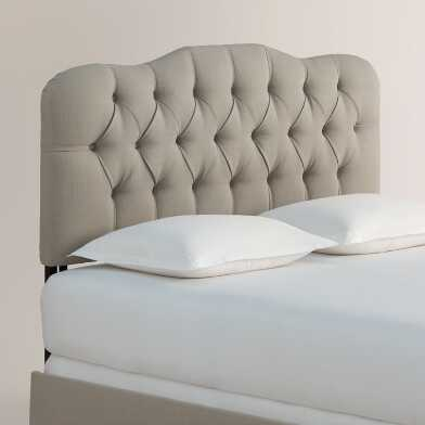 Textured Tufted Rae Upholstered Bed