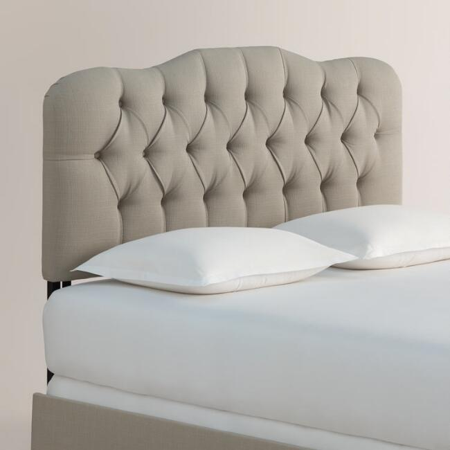 Textured Woven Rae Upholstered Bed
