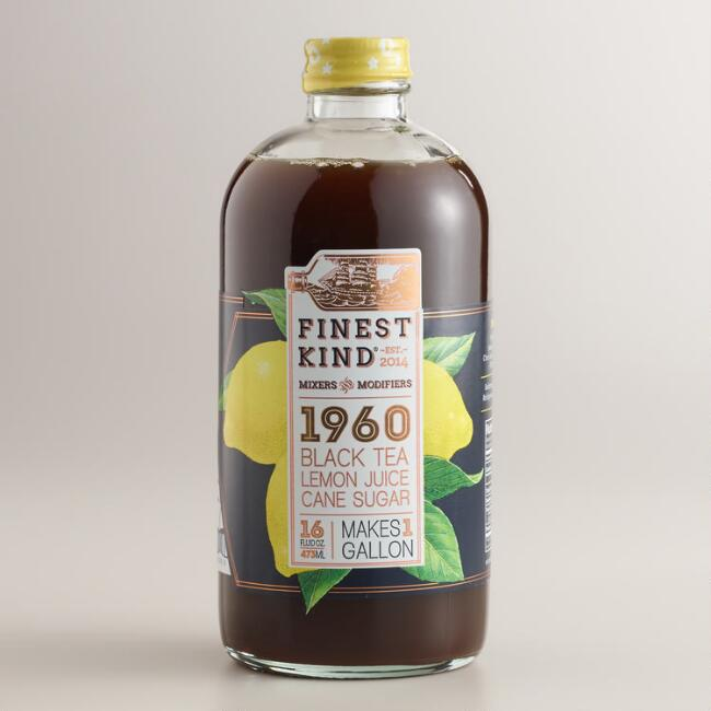 Finest Kind 1960 Black Tea and Lemon Concentrate