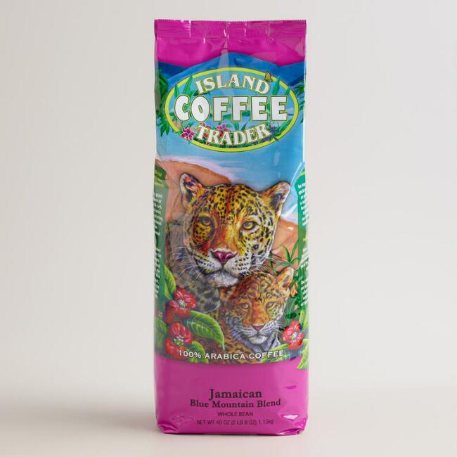 Island Trader Jamaican Blue Mountain Blend Whole Bean Coffee