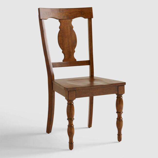 Wood Durham Dining Chairs, Set of 2