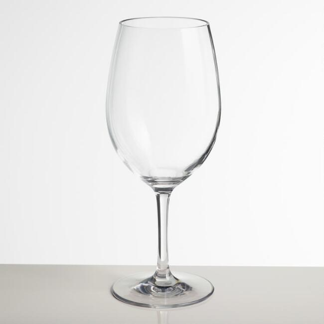 Acrylic Bordeaux Stemware Set of 6