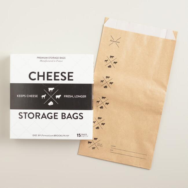 Paper Cheese Storage Bags, 15-Count