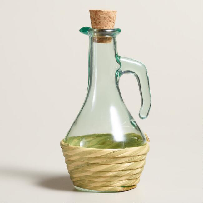 Small Glass Tuscia Oil Bottle