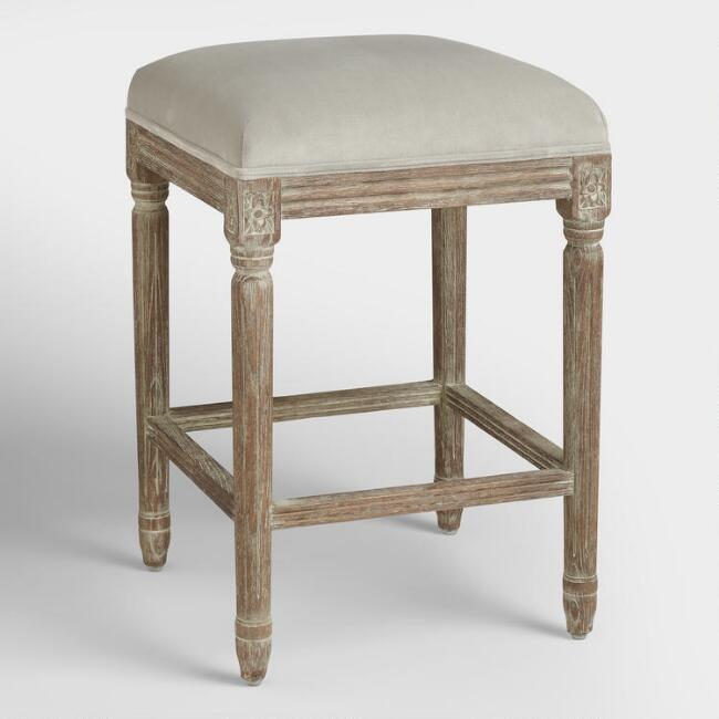 Dove Paige Backless Counter Stool