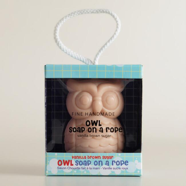 Owl Soap on a Rope
