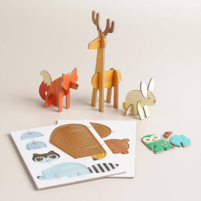 Woodlands  Pop-Out and Play Set