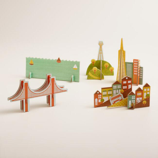 San Francisco Pop-Out and Play Set
