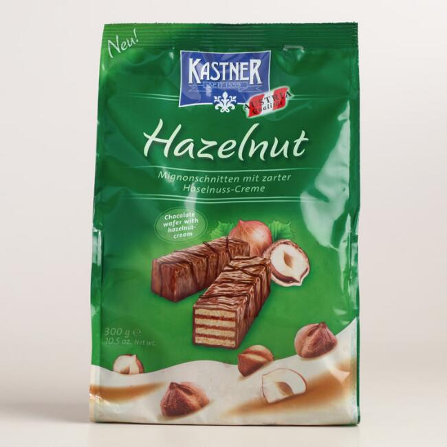 Kastner Hazelnut Chocolate Wafers