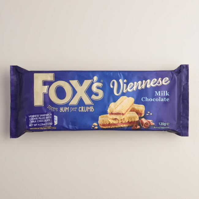 Fox's Viennese Mlk Chocolate Sandwich Cookies
