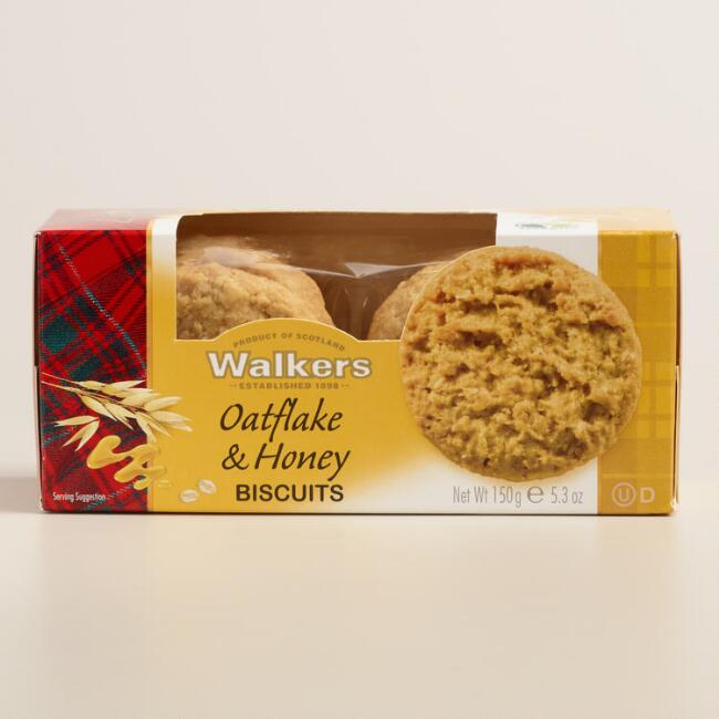 Walkers Oatflake & Honey Biscuits