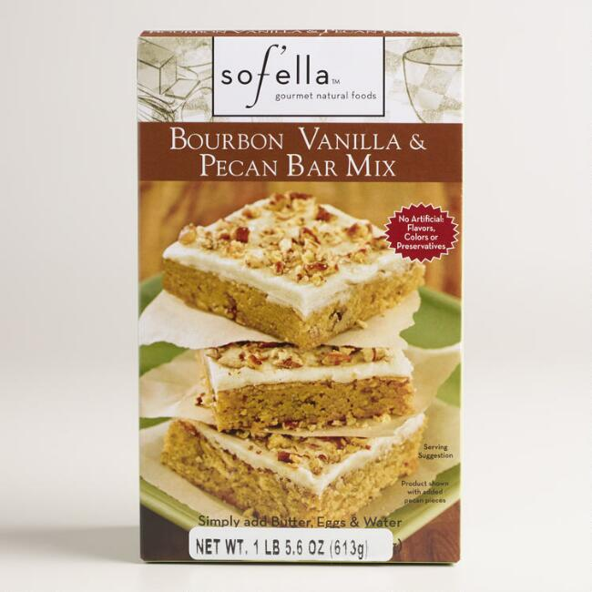 Sof'ella Bourbon Pecan Bar Mix, Set of 2