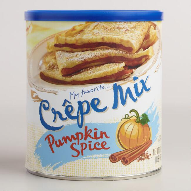 My Favorite Pumpkin Spice Crepe Mix