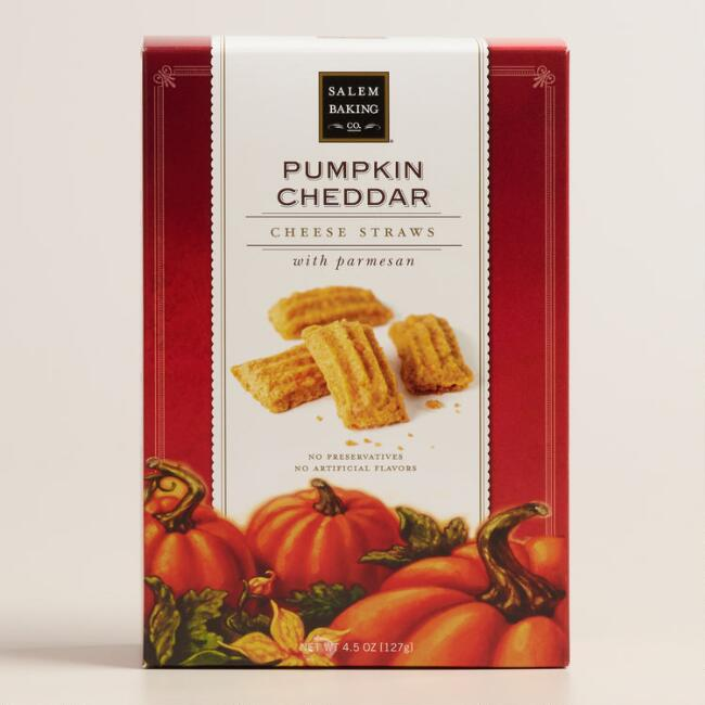 Salem Baking Pumpkin Cheddar Cheese Straws