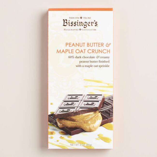 Bissinger's Peanut Butter Maple Oat Crunch Chocolate Bar