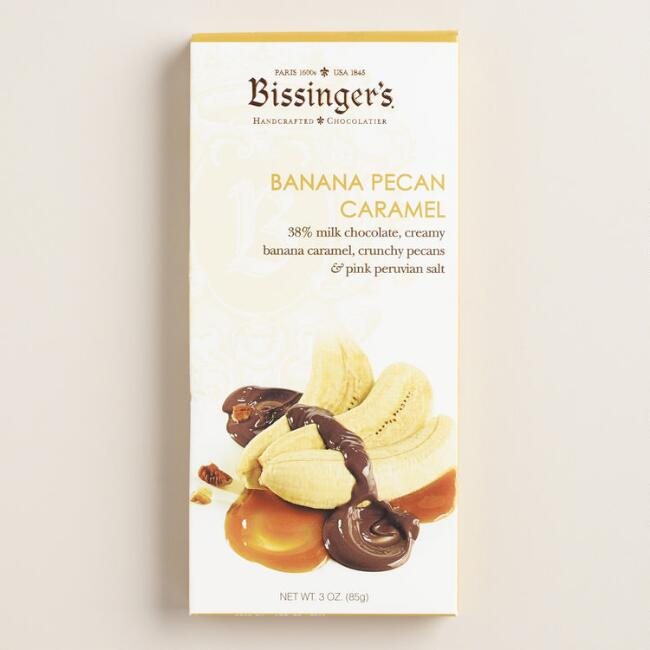 Bissinger's Banana Pecan Caramel Chocolate Bar