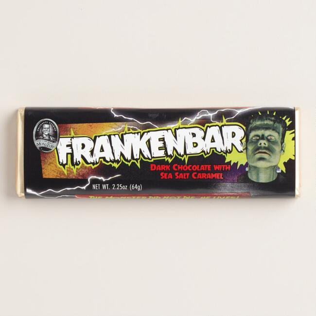 Universal Monsters Dark Chocolate and Sea Salt Caramel Frank