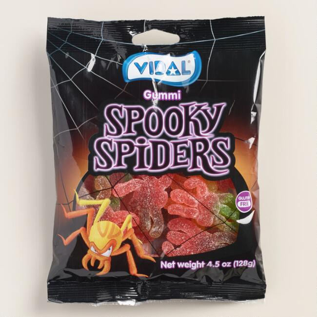 Vidal Sour Spooky Spider Candy