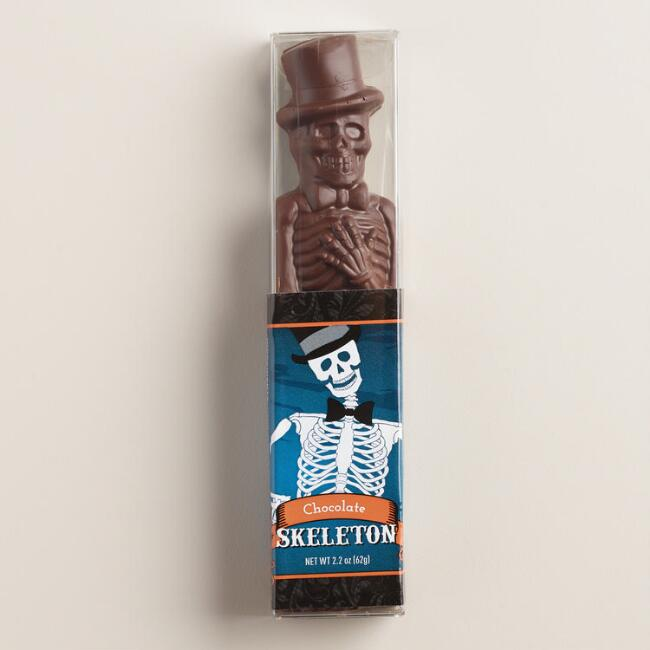 Dark Chocolate Fudge Skeleton