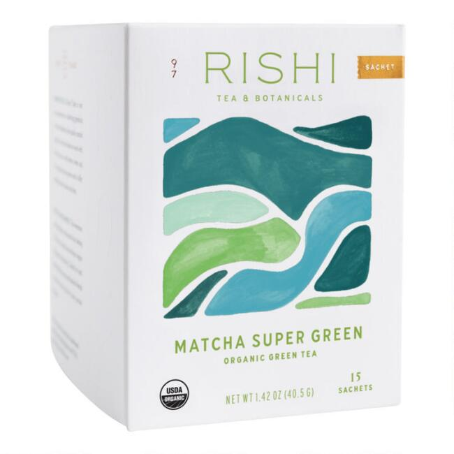 Rishi Super Green Tea, 15-Count