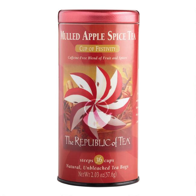 The Republic of Tea Mulled Apple Spice Tea, 36-Count