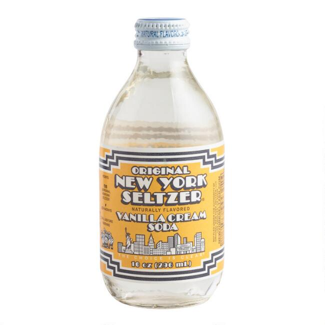 Vanilla Cream Original New York Seltzer