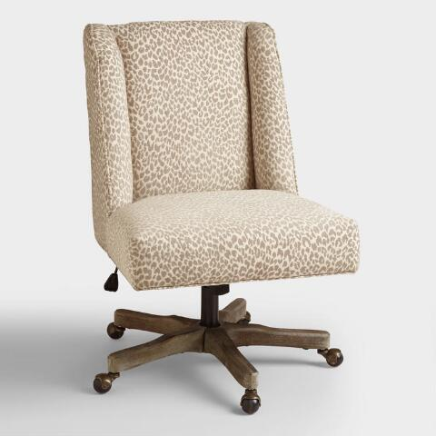 Decals For Baby Room, Mali Ava Upholstered Office Chair World Market