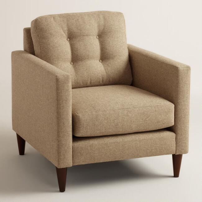 Chunky Woven Ryker Upholstered Chair