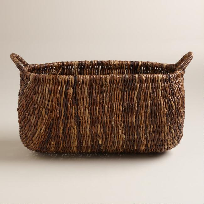 Oval Madras Lorenzo Basket