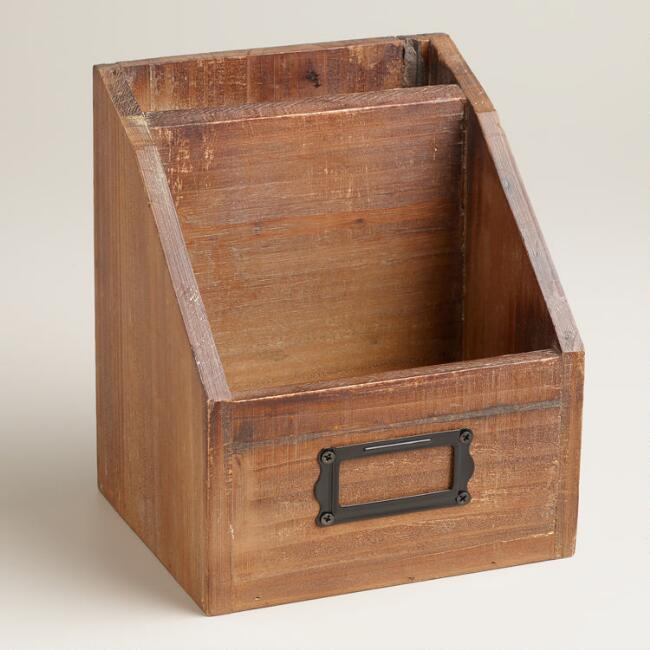 Wood Marcus Mini Desk Organizer