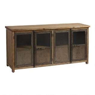 hd indira cabinets walnut units credenzas modernism organic oak buttercup media living cabinet