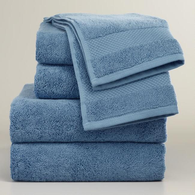 Mediterranean Blue Towel Collection