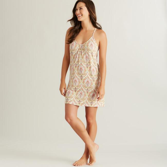 Watercolor Ogee Chemise