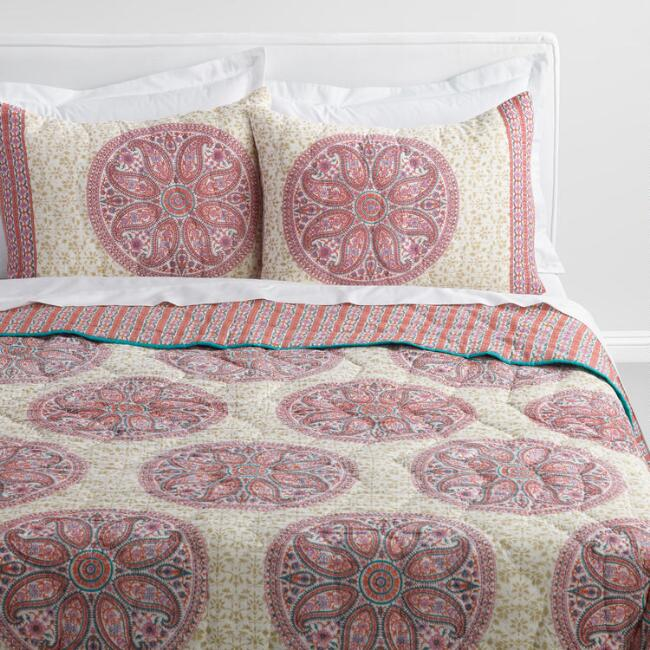 blue set full amazon com intricate horizontal comforter bold bohemian medallion boho bed piece bedding queen turquoise grey pretty chic dp