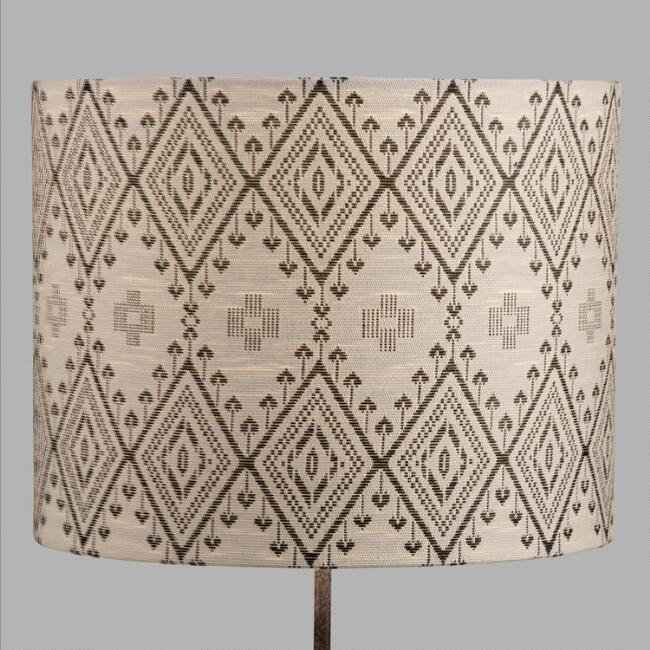 Tribal Drum Table Lamp Shade