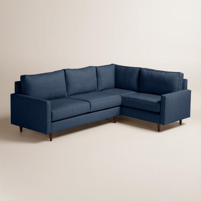 Chunky Woven Nashton Left-Facing Upholstered Sectional